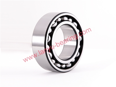 S-shaped iron cage double row angular contact ball bearing