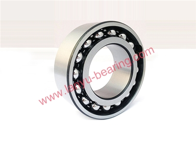 U-shaped iron cage double row angular contact ball bearing
