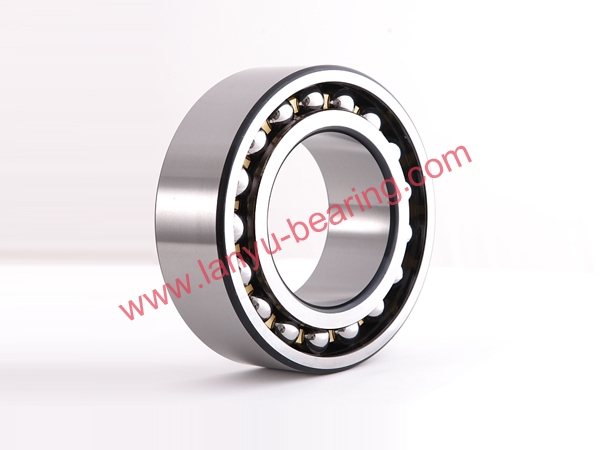 Brass cage double row angular contact ball bearing