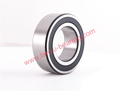 Rubber cover (RS, 2RS) double row angular contact ball bearing